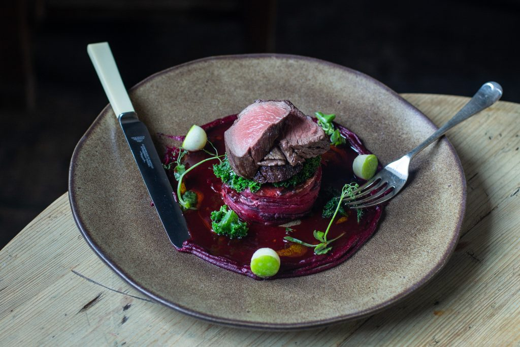 Wild venison from Wytham Woods